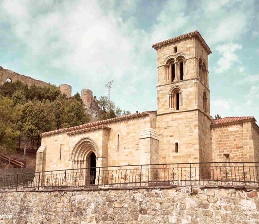 Iglesia de Santa Cecilia. Aguilar de Campoo. Palencia. Montaña Palentina