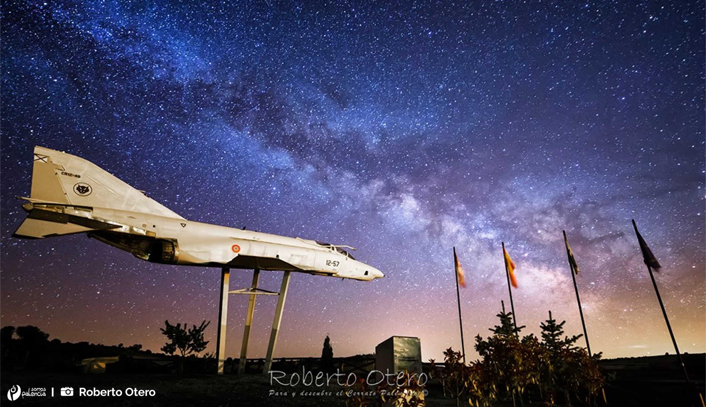 Avión de combate F-4 Phantom II. Antigüedad. Palencia