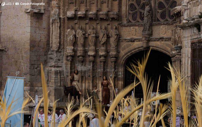 Borriquilla Palencia, Semana Santa, Domingo de Ramos