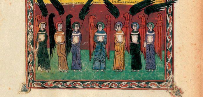 El vestíbulo del Ayuntamiento acoge hasta el 23 de febrero una muestra de manuscritos con la que reconoce la figura del Beato de Liébana