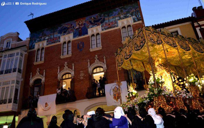 Procesión La Oración del Huerto. Jueves Santo. Semana Santa. Palencia