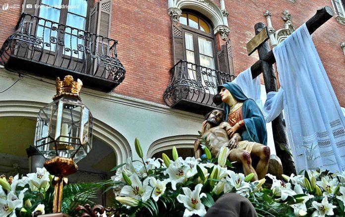 Procesión de Piedad y Reconciliación. Sábado de Pasión, Semana Santa Palencia