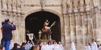 Vídeo Procesión del Domingo de Ramos de Palencia - Borriquilla