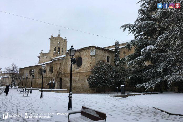 San Pablo. Nevada en Palencia 2018. Nieve. 28 de Febrero. Somos Palencia