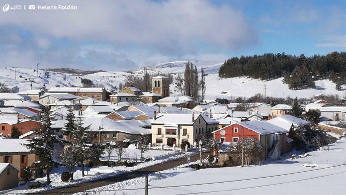 Perazancas de Ojeda. Nevada. Palencia. Nieve