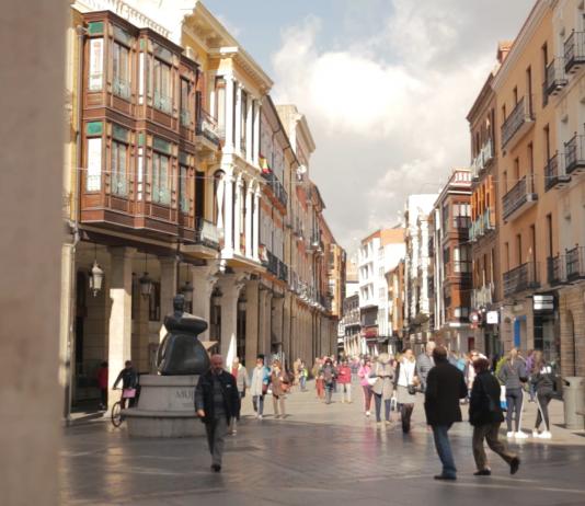 Calle Mayor de Palencia