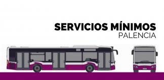 Horarios del servicio mínimo por huelga indefinida en el transporte urbano de Palencia