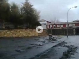 Inundacion en Guardo