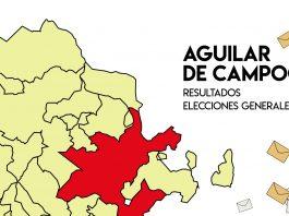 Resultados Elecciones Generales 2019 Aguilar de Campoo Palencia