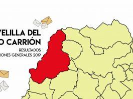 Resultados Elecciones Generales 2019 Velilla del Río Carrión Palencia