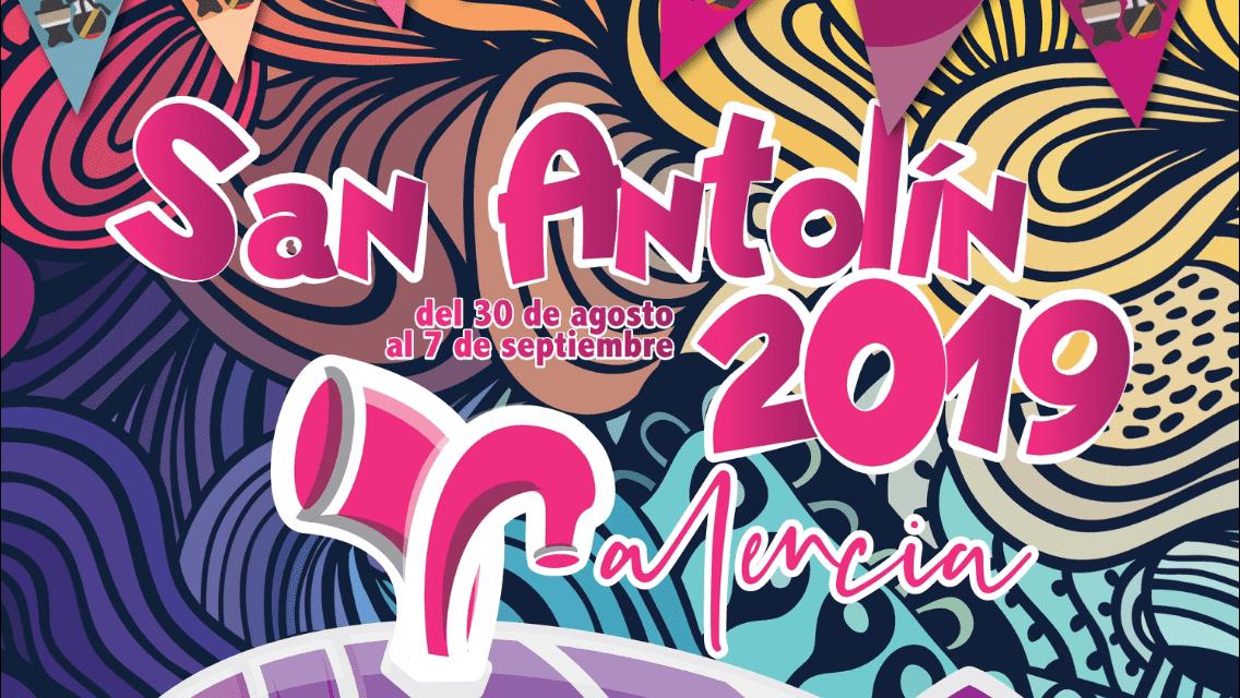 Cartel San Antolín Palencia 2019