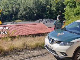 Detenido por la Guardia Civil tras robar en una mina del norte de Palencia