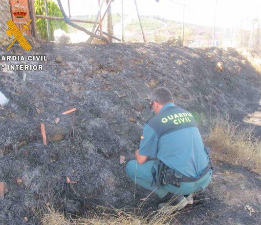La Guardia Civil investiga a un vecino de Palencia por el incendio del Monte el Viejo