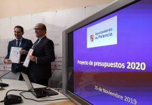 El Presupuesto 2020 del Ayuntamiento de Palencia asciende hasta los 79,4 millones de euros