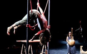 El espectáculo de circo 'Aware' a escena en el Teatro Principal
