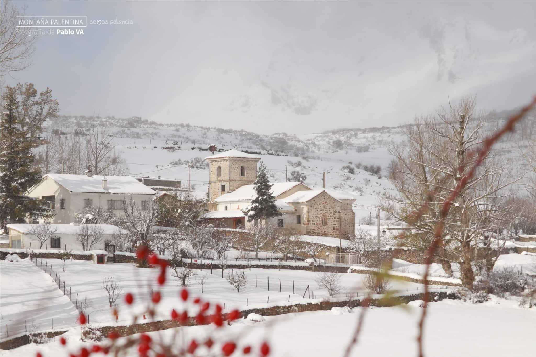 Las mejores estampas invernales de la Montaña Palentina - Alba de los Cardaños