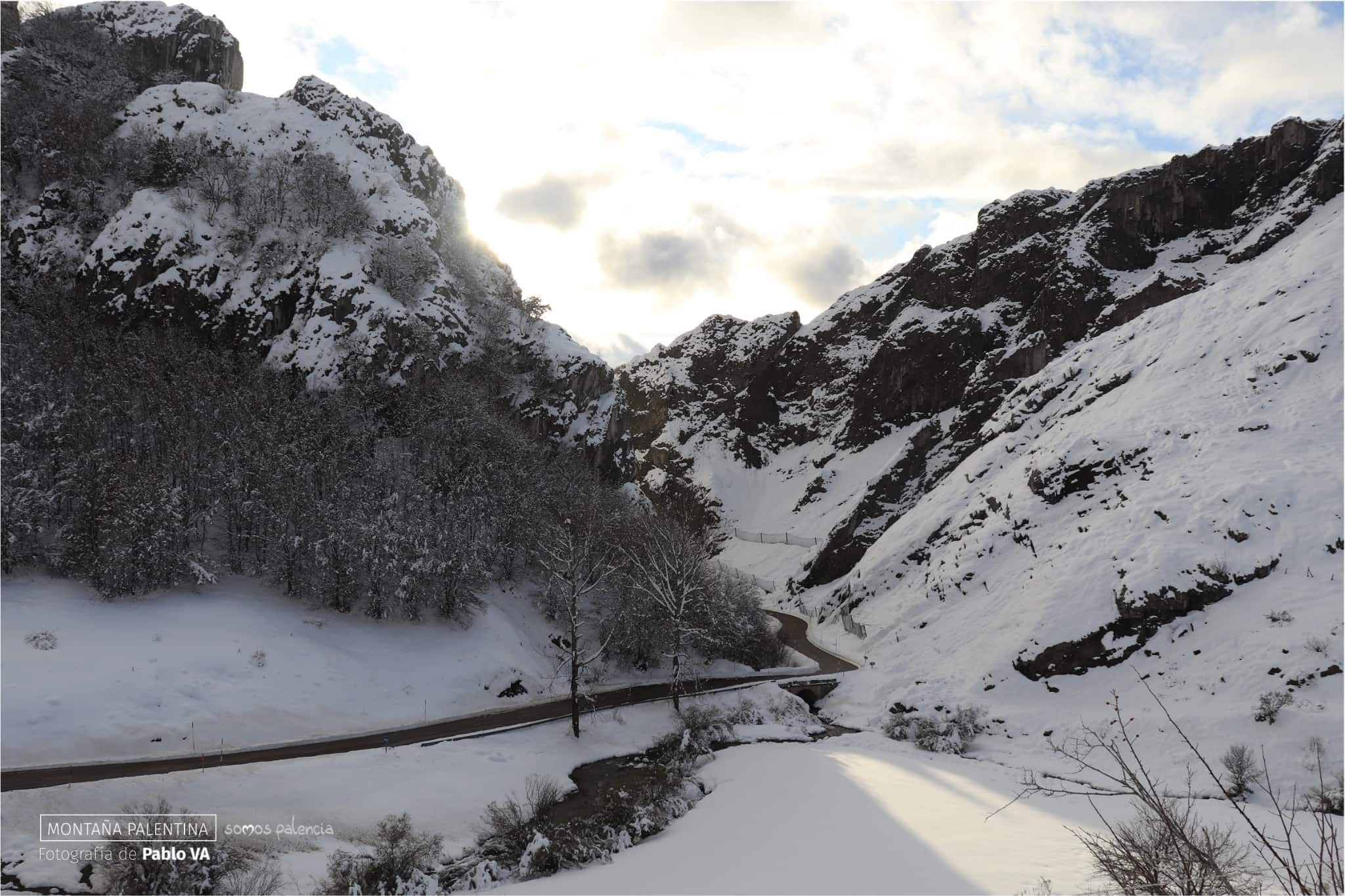 Las Mejores Estampas Invernales De La Montaña Palentina
